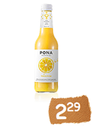 PONA Bio Valencia Orange sparkling juice