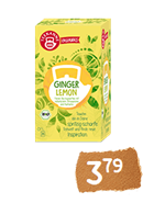 Teekanne Ginger Lemon BIO