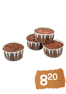 Shneor´s Kakao-Orange Muffin - 4 Stück