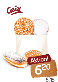 Geiers Krapfen-Mix-Aktion